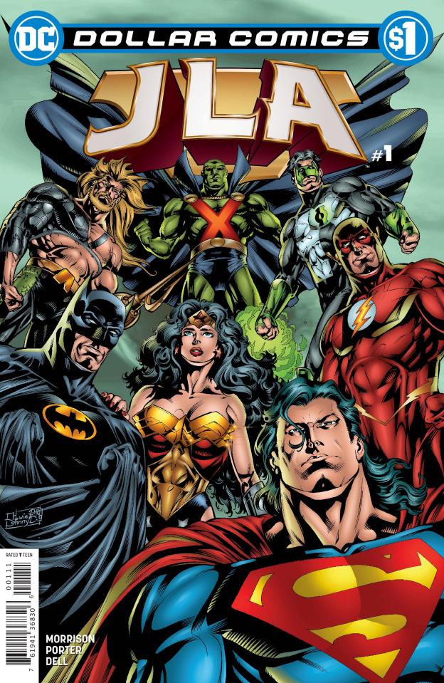 JLA #1 (Dollar Comics)