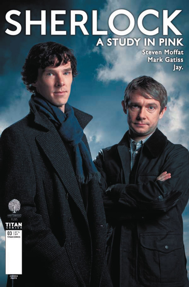 Sherlock: A Study in Pink #3 (Photo Cover)