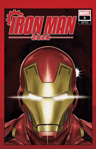 Iron Man 2020 #6 (Superlog Heads Cover)