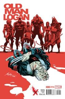 Old Man Logan #8 (Albuquerque Death of X Cover)