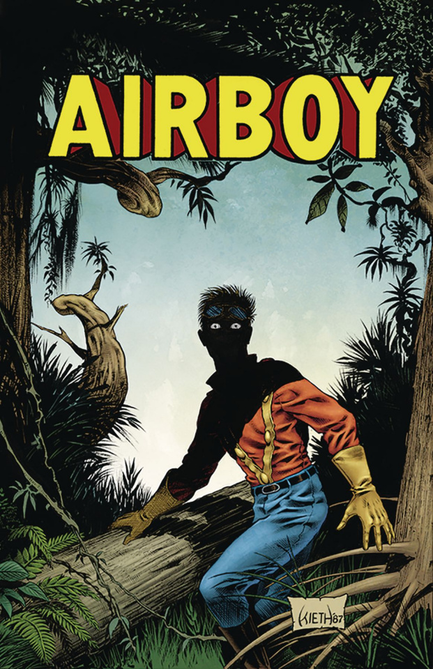 Airboy #51 (Kieth Cover)