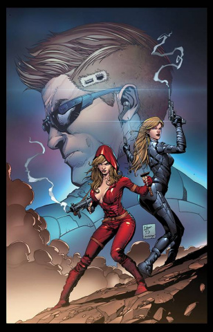 Grimm Fairy Tales: Red Agent #2 (Salazar Cover)