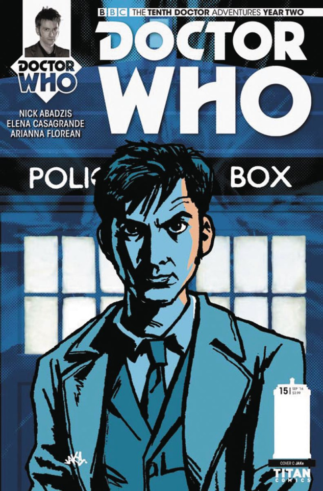 Doctor Who: New Adventures with the Tenth Doctor, Year Two #15 (Jake Cover)