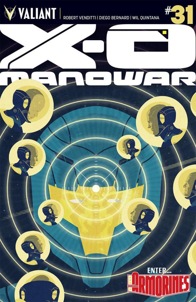 X-O Manowar #31 (Interlocking Allen Cover)