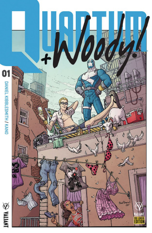 Quantum & Woody #1 (Pre-Order Covers)