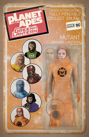 The Planet of the Apes / The Green Lantern #6 (Unlock Vintage Figure Cover)
