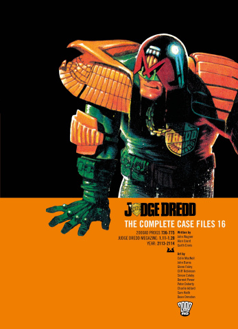 Judge Dredd: The Complete Case Files Vol. 16