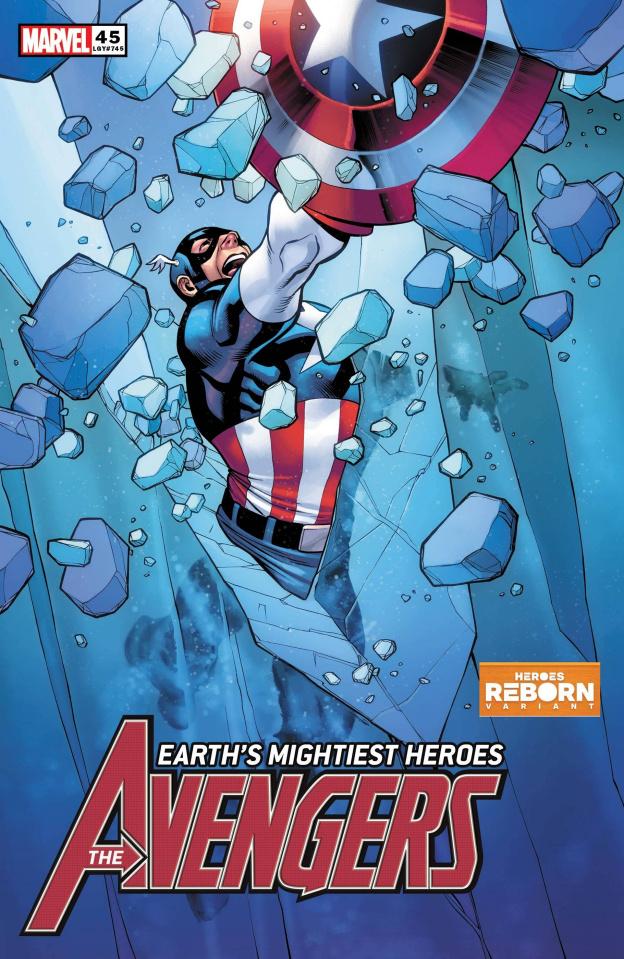 Avengers #45 (Pacheco Reborn Cover)