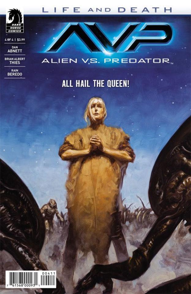 Aliens vs. Predator: Life and Death #4