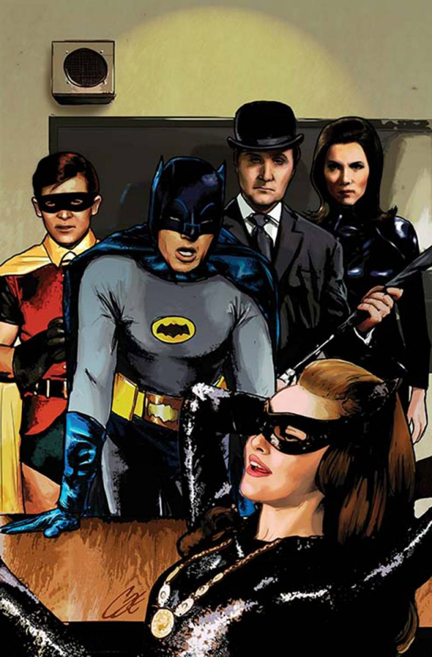 Batman '66 Meets Steed and Mrs. Peel #1 (Variant Cover)