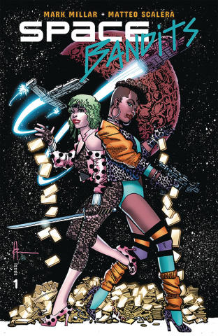 Space Bandits #1 (Legends Chaykin Cover)
