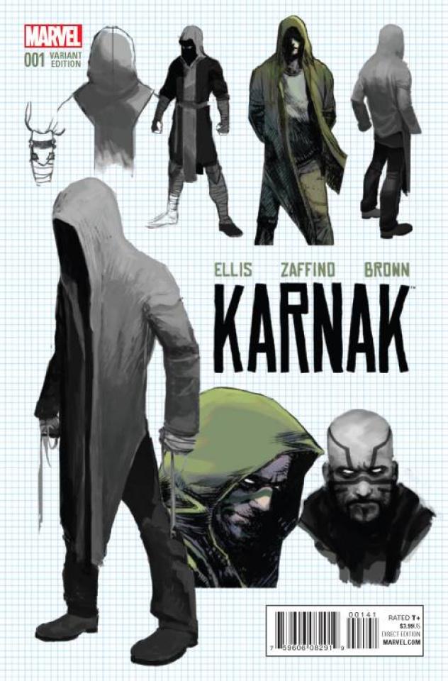 Karnak #1 (Zaffino Design Cover)