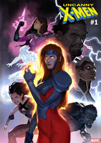 Uncanny X-Men #1 (Djurdjevic Cover)