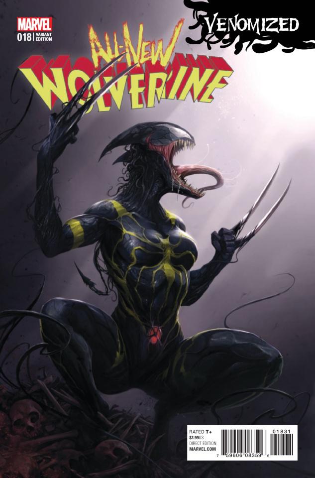 All-New Wolverine #18 (Mattina Venomized Cover)