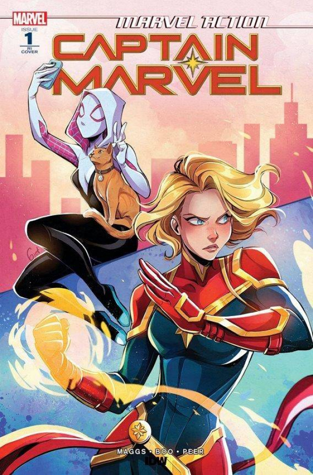Marvel Action: Captain Marvel #1 (10 Copy Lusky Cover)