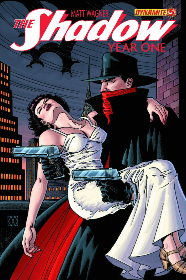 The Shadow: Year One #5 (Wagner Cover)