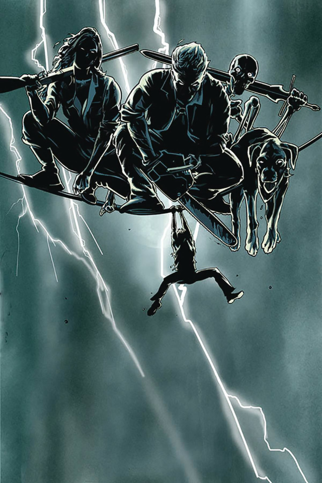 Death to the Army of Darkness #5 (15 Copy Mooney Homage Virgin Cover)