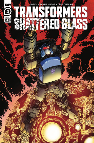 Transformers: Shattered Glass #4 (Milne Cover)