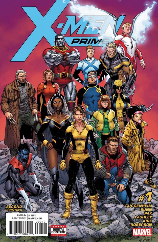 X-Men: Prime #1 (2nd Printing)