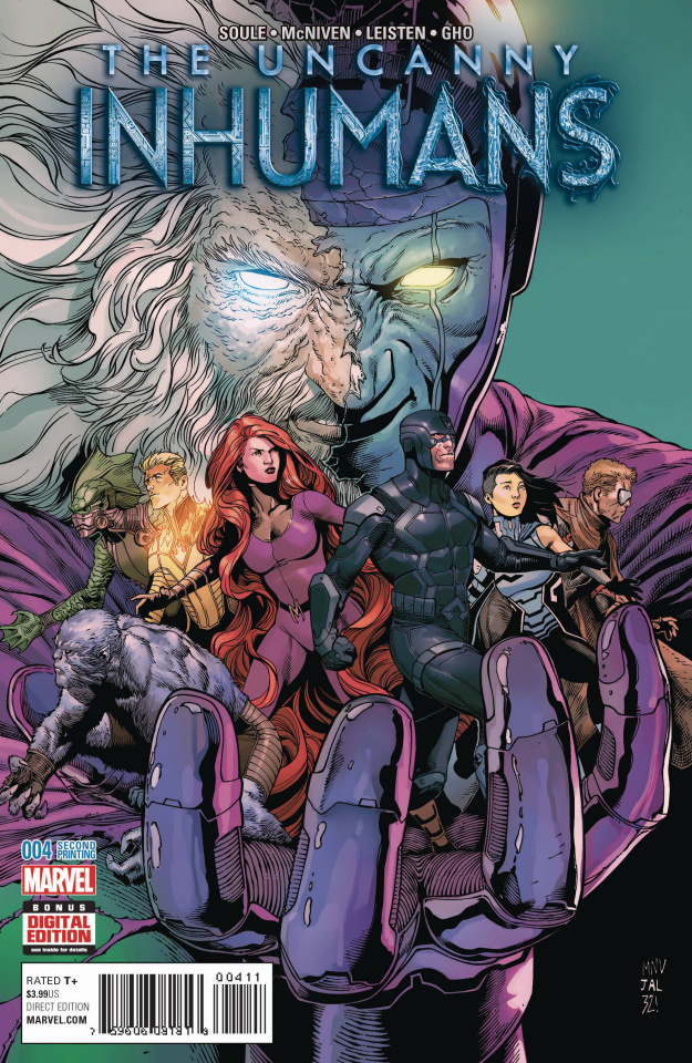 The Uncanny Inhumans #4 (McNiven 2nd Printing)