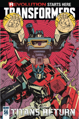 The Transformers #56 (10 Copy Cover)