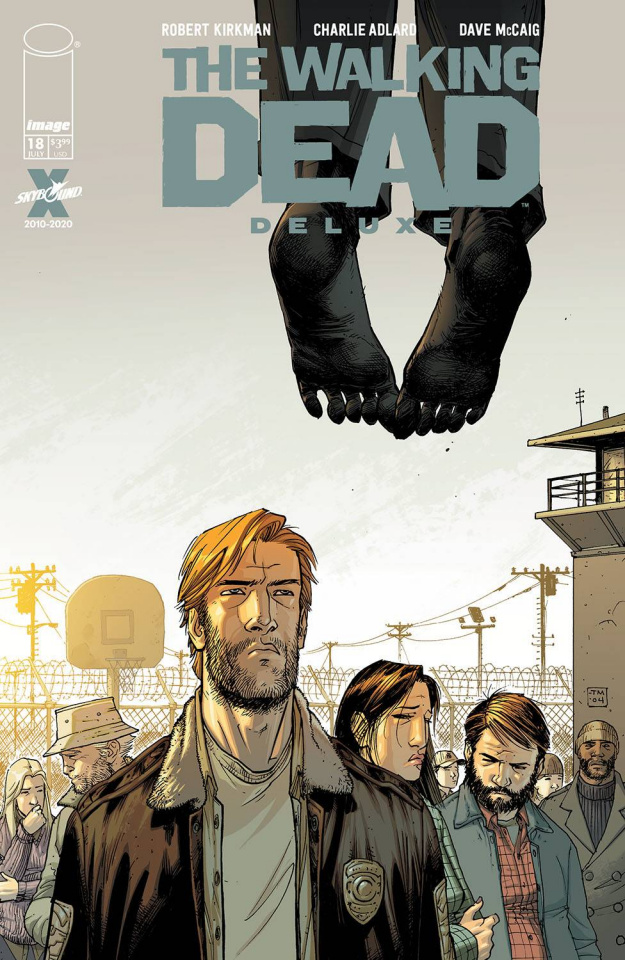 The Walking Dead Deluxe #18 (Moore & McCaig Cover)