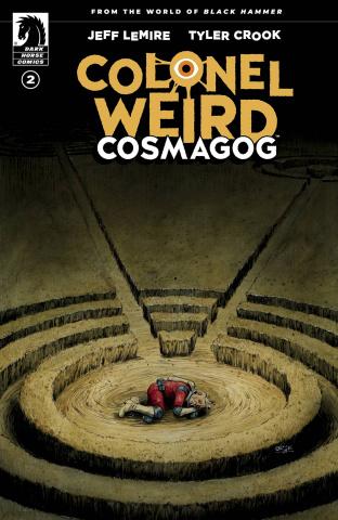 Colonel Weird: Cosmagog #2 (Crook Cover)