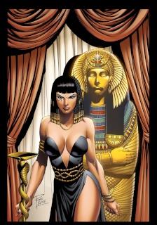 Grimm Fairy Tales: Van Helsing vs. The Mummy of Amun Ra #2 (Rei Cover)