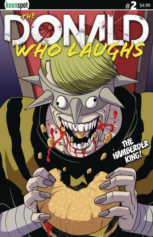 The Donald Who Laughs #2 (Hamberder King Cover)