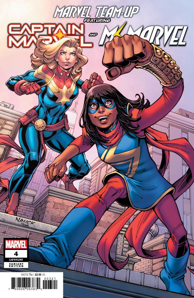 Marvel Team-Up #4 (Nauck Cover)