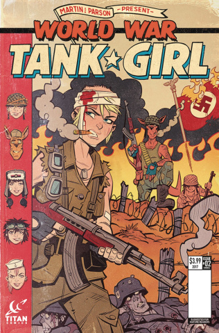 Tank Girl: World War Tank Girl #2 (Parson Cover)