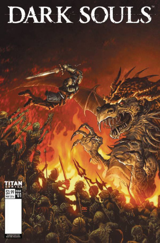 Dark Souls #1 (Cassara Cover)