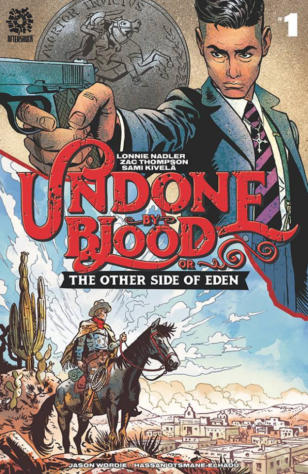 Undone by Blood: The Other Side of Eden #1 (Kivela & Wordie Cover)