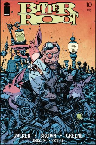 Bitter Root #10 (Greene Cover)