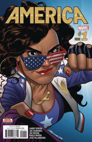 America #1 (2nd Printing Quinones Cover)