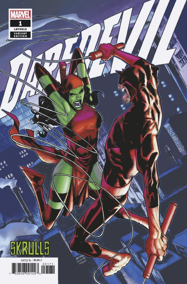 Daredevil #1 (Ramos Skrulls Cover)