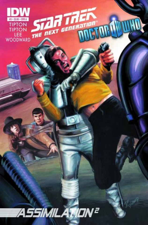Star Trek: The Next Generation/Doctor Who - Assimilation #3