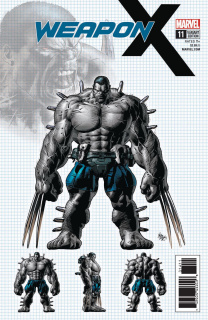 Weapon X #11 (Deodato Design Cover)