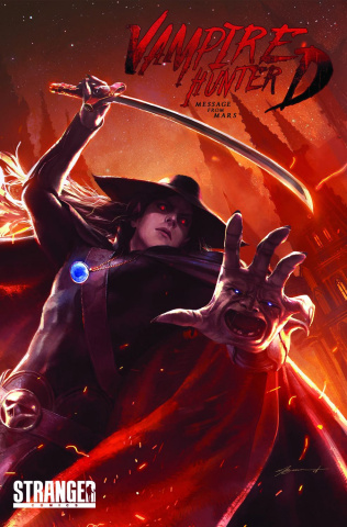 Vampire Hunter D: Message from Mars #1 (Broussard Cover)
