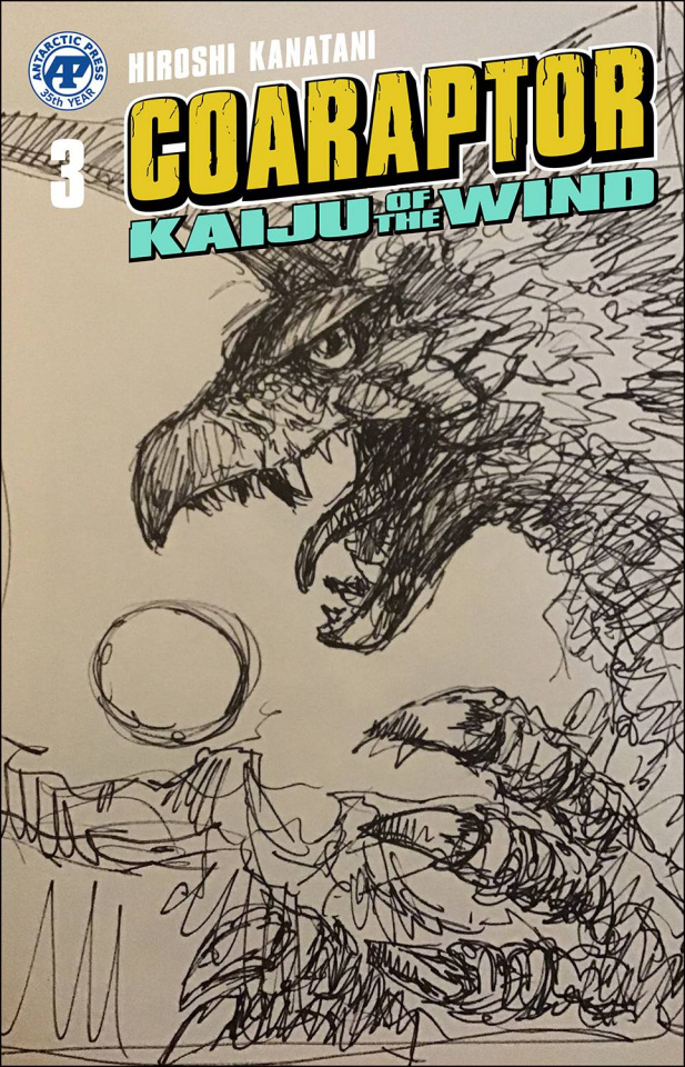 Coaraptor: Kaiju of the Wind (Bob Eggleton Cover)