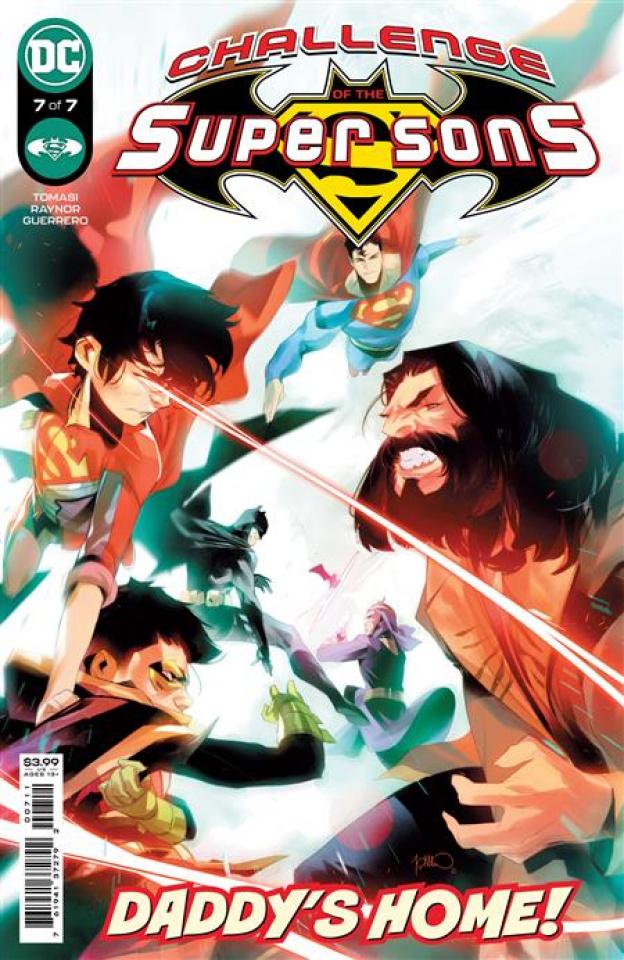 Challenge of the Super Sons #7 (Simone Di Meo Cover)