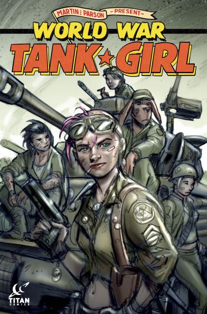 Tank Girl: World War Tank Girl #4 (Wahl Cover)