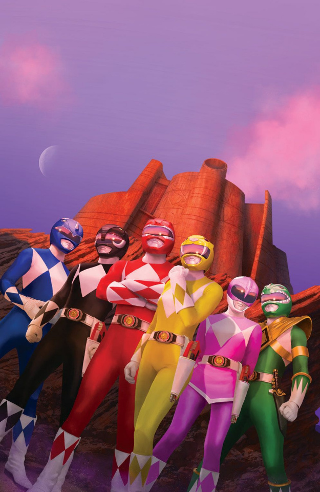Mighty Morphin' Power Rangers Anniversary Special #1 (10 Copy Rahzzah Cover)