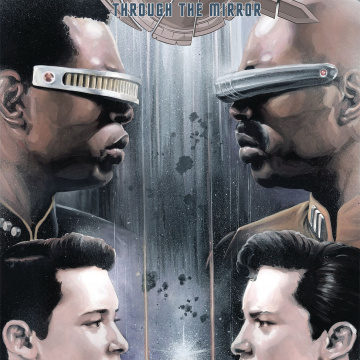 Star Trek: The Next Generation - Through the Mirror #4 (Woodward Cover)