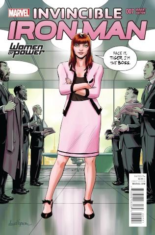 Invincible Iron Man #7 (Lopez Cover)
