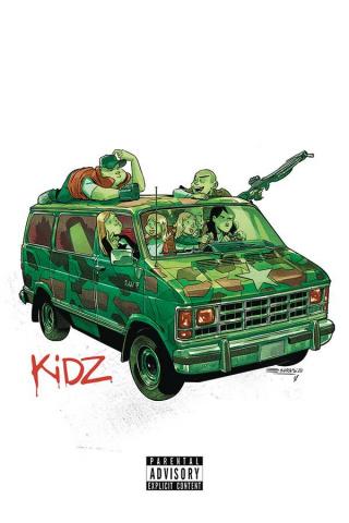 Kidz #5 (Cristobol Gorillaz Album Parody Cover)