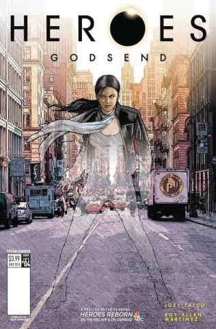 Heroes: Godsend #4 (Millidge Cover)