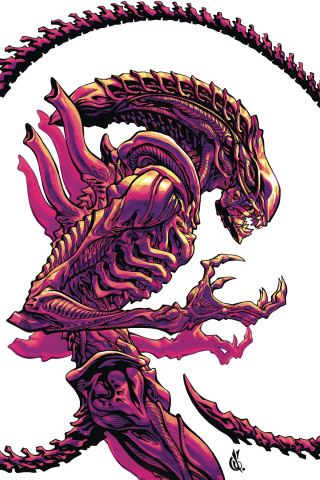 Aliens: Dust to Dust #2 (D'Anda Cover)