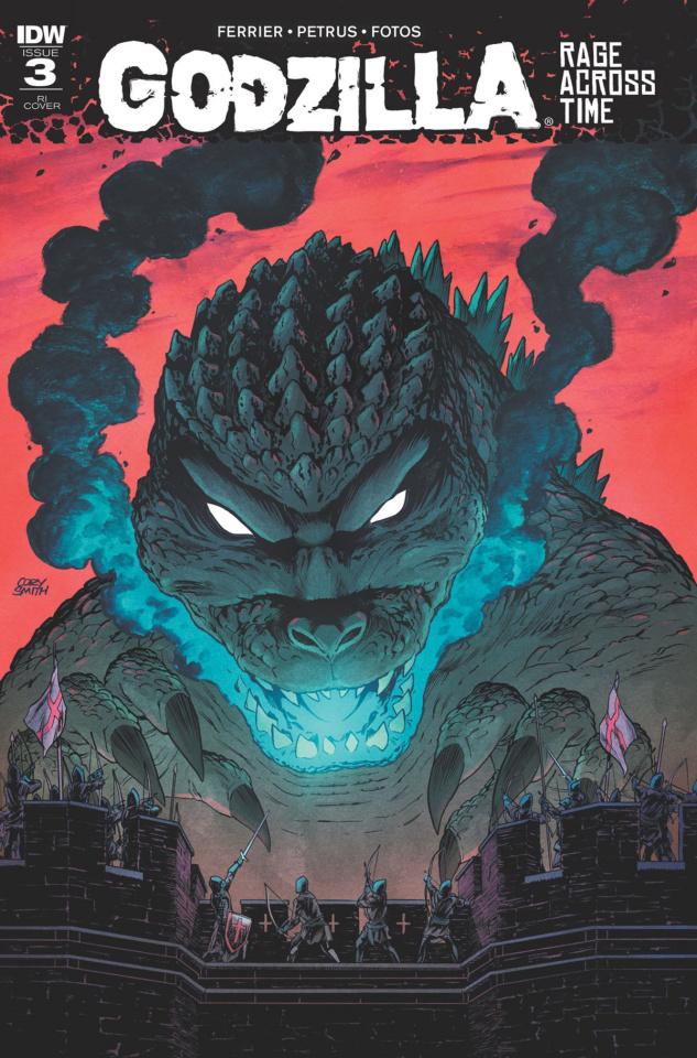 Godzilla: Rage Across Time #3 (10 Copy Cover)