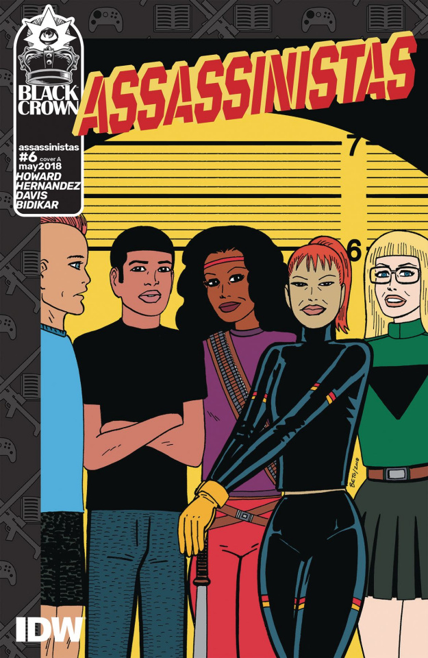 Assassinistas #6 (Hernandez Cover)